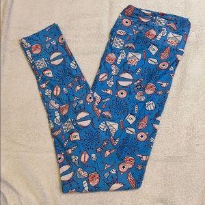 Like new leggings from LuLaRoe. Size TC